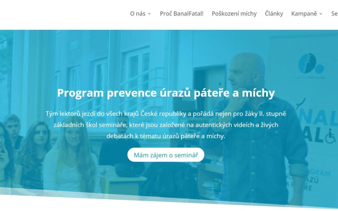 Upgrade webu BanalFatal!