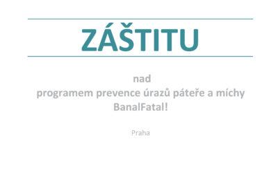 Program prevence úrazů mládeže BanalFatal! získal záštitu ministerstva školství